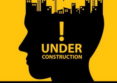 en construction carre